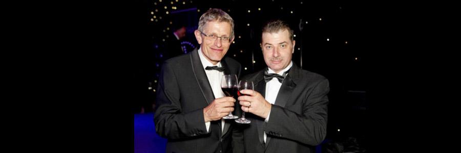 Robin Findlay and Simon Calder