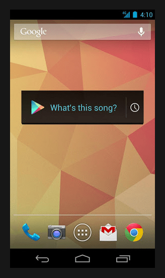 Sound Search Widget for Android