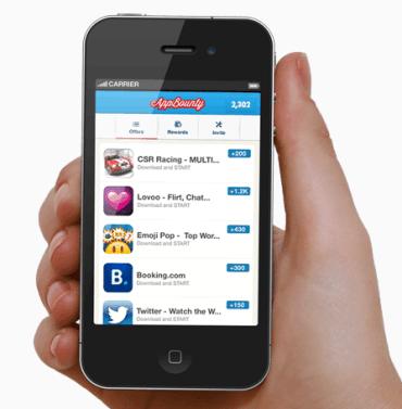 gagner des cartes iTunes , des bon amazon ou Xbox live avec appbounty
