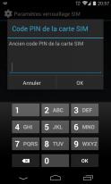 Protéger et Sécuriser son smartphone Android - Pin Code