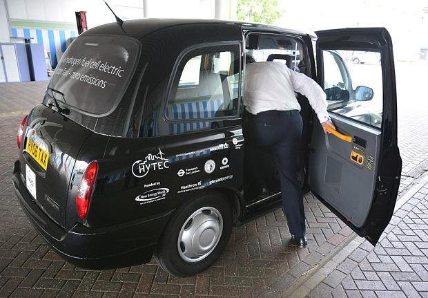 batterie hydrogene taxi