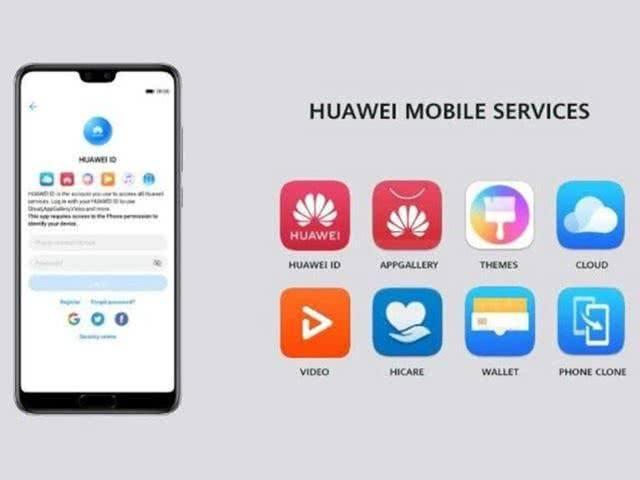 Huawei HWS la vie sans Google