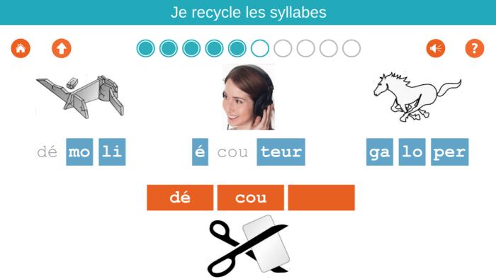 apprentissage des syllabes au CP