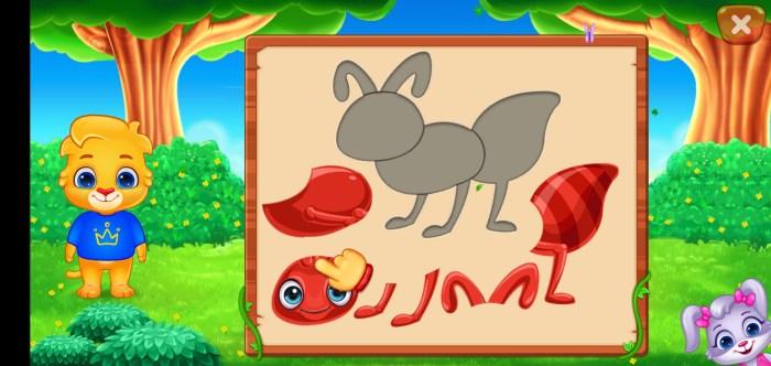 puzzle , activité apprentissage enfant maternelle