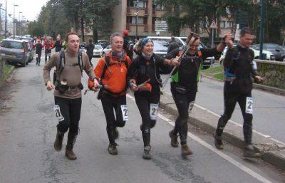 Arrivée des knockand'O raid28 - 2012 - Bures sur Yvette