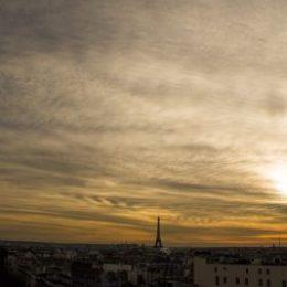 Sunset - Terrasse panoramique - grand magasin - Printemps - Paris 2017