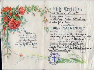 MarriageCertificate-1952-Web