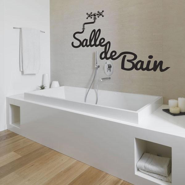 Sticker Salle de bain  stickers salle de bain  stickers muraux  fanastickcom