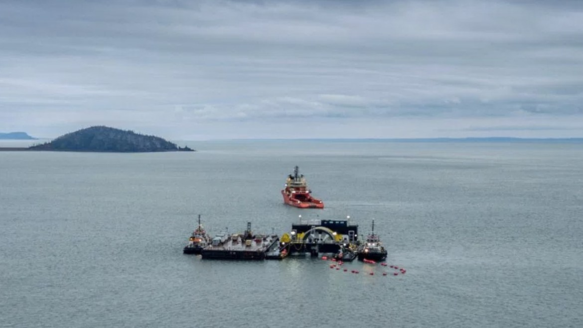 North Americas first Tidal energy turbine goes online in Nova Scotia