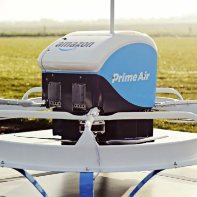 Amazon Prime Air completes its first UK commercial drone delivery