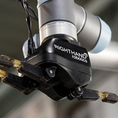 Warehouse robot's upgrade helps it pick goods at human speed