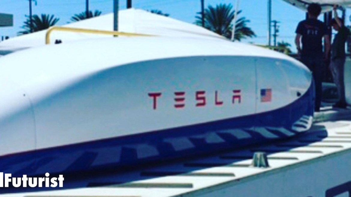 Tesla enters the Hyperloop race, instantly breaks speed record