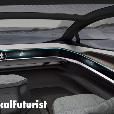 Audi unveils a future without cars