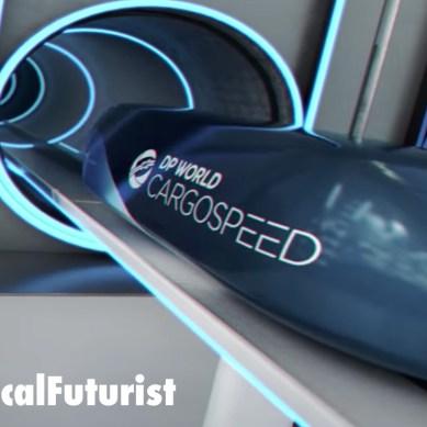 DP World and Virgin unveil Cargospeed Hyperloop