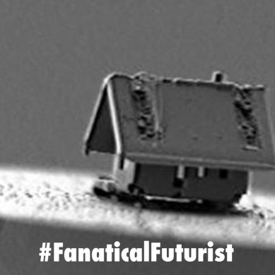 Scientists push the boundaries of nanotech to build the world's smallest house