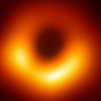 This is the first ever photo of a black hole
