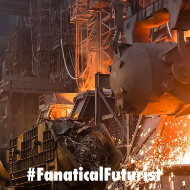 Promising solar energy breakthrough could replace steel making blast furnaces