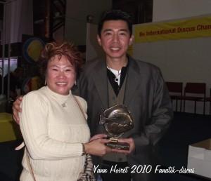 Allan Lee et sa partenaire duisbourg 2010