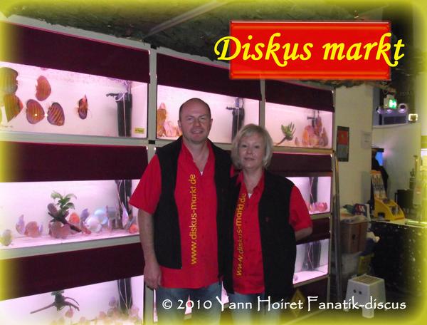 Diskusmarkt Duisbourg 2010