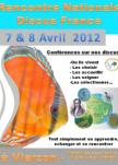 Affiche Rencontre Nationale Discus France 2012