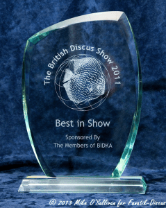 trophy best of Show BIDKA 2011