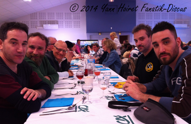 Diner France Discus Show 2014 italian and greek guys