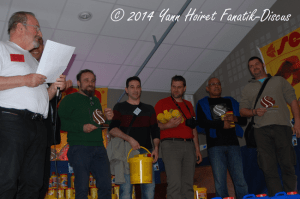 Pigeon blood trophies France Discus Show 2014
