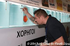Yann Hoiret juge Greek Discus Show 2014