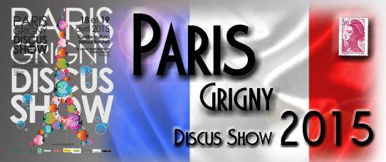 Paris Grigny Discus Show 2015