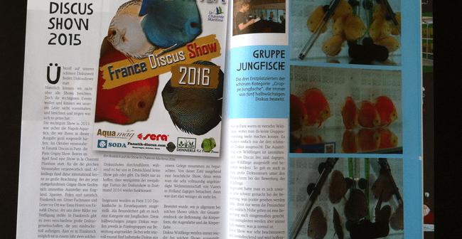Discus Live magazine 58 Bernd Degen