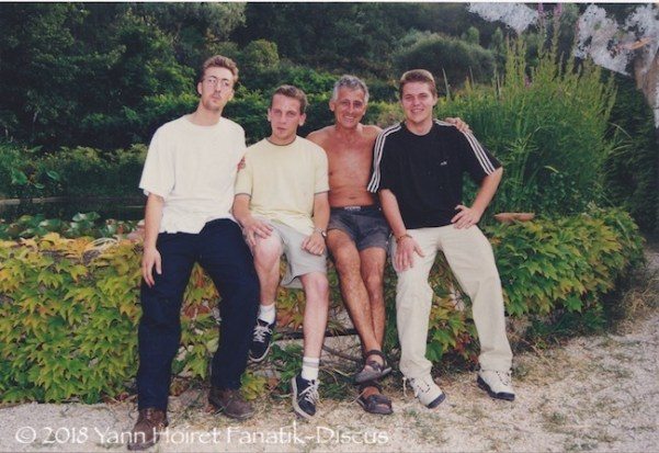 1999 Jeff Nicolas Dubosc David JC Nourissat Yann Hoiret Toulon at JC