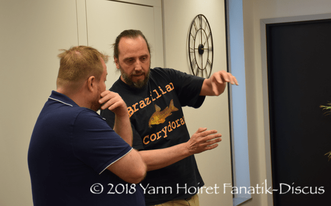 Conférence dédiée aux corydoras de Hans Ever