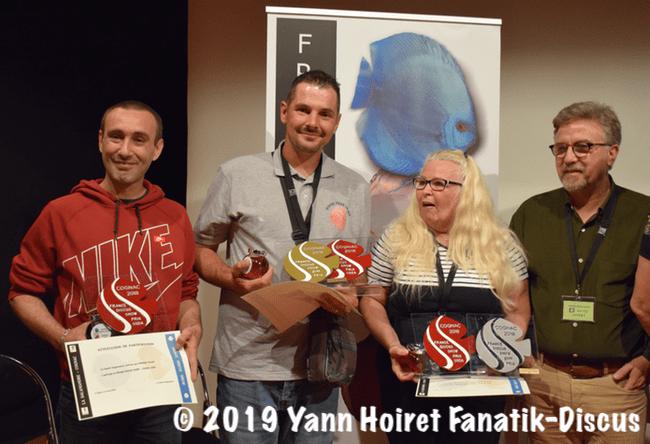 Eleveurs amateurs primés FDS Cognac 2018