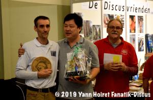 Dimitri Biccler Francis Hu et Eddy Leysen