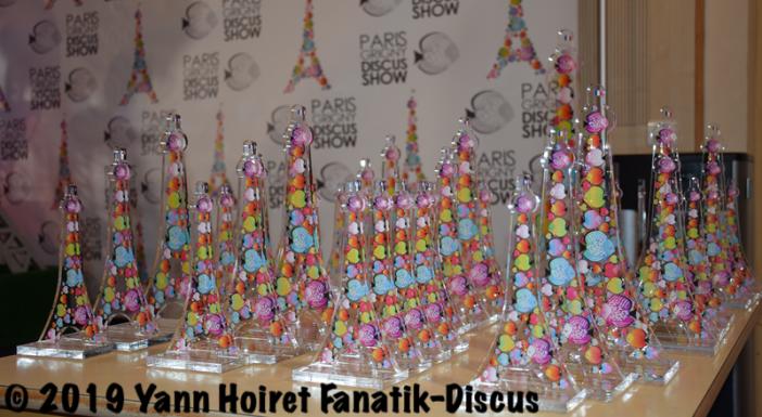 Trophées Paris Discus Show 2019