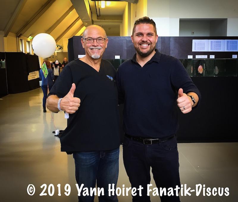 Gérald Bassleer et Yann Hoiret