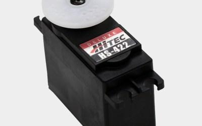 Hitec HS-422 – servo sicuro e robusto con ingranaggi in resina