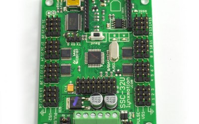 SSC-32U USB Servo Controller fino a 32 servo