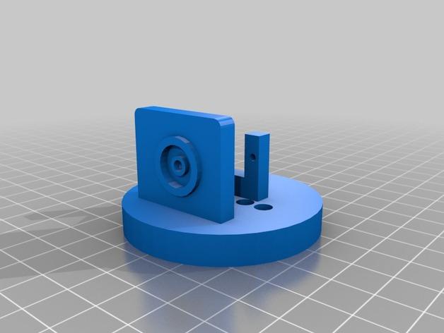 Base cilindrica mobile del pan-tilt