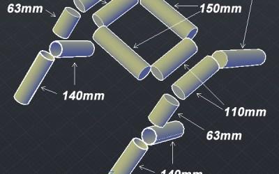 Tubi in PVC come sezionarli – Tutorial Rocker Tubie – Fase 1