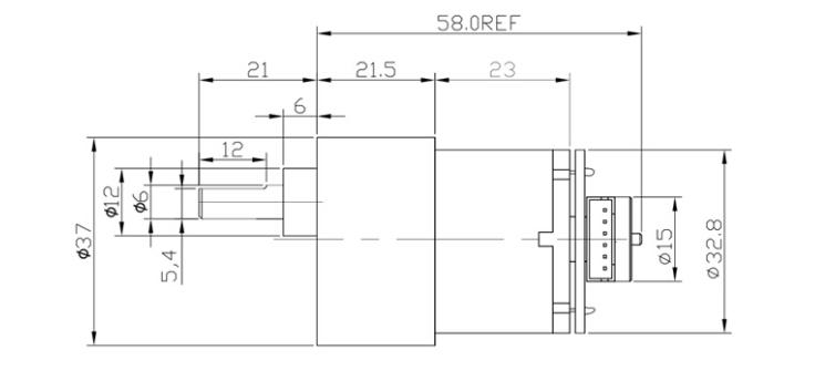Dimensioni Motore e staffa