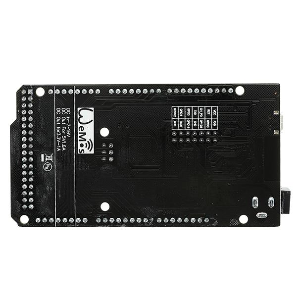 Wemos Mega 2560 R3 + Esp8266