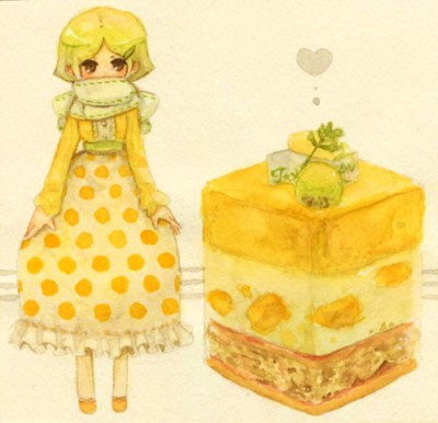Cute Pizza Wallpaper Dessert Inspired Anime Characters 187 Fanboy Com