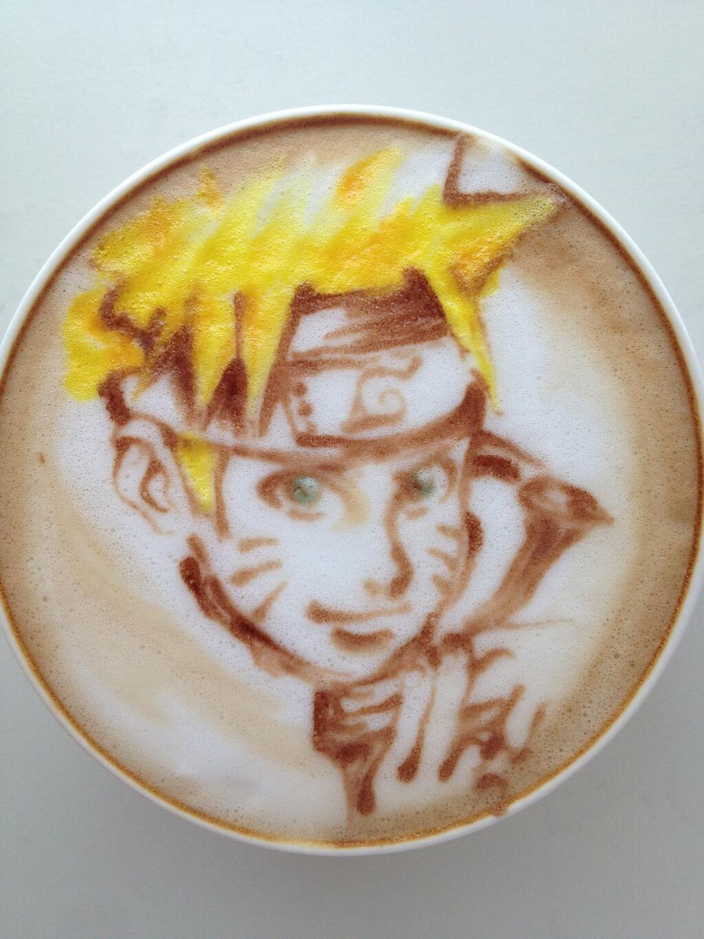 Japanese Latte Artist Puts Anime Characters In Coffee  Fanboycom
