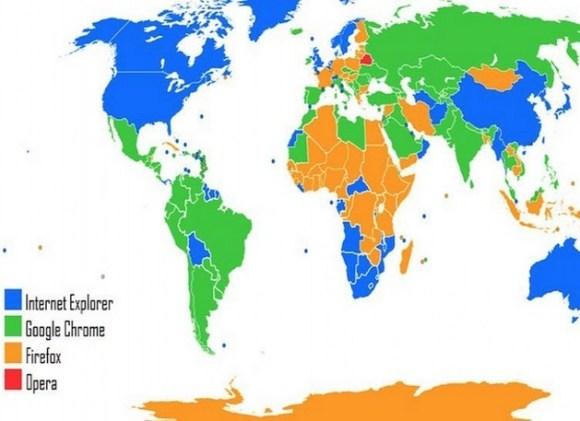internet browser map