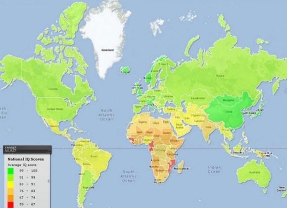 national iq map