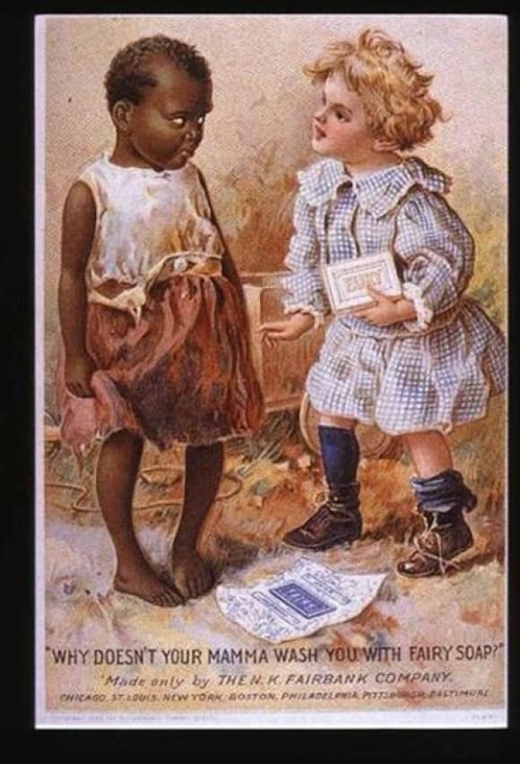 racist fairy soap ad
