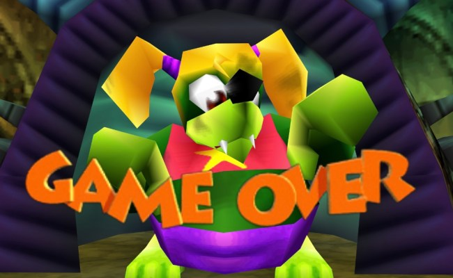 Banjo Kazooie Game Over A Review