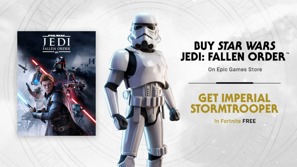 Become A Stormtrooper In Fortnite Thanks To Star Wars Jedi