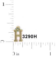 3290H BLOCK LETTER H